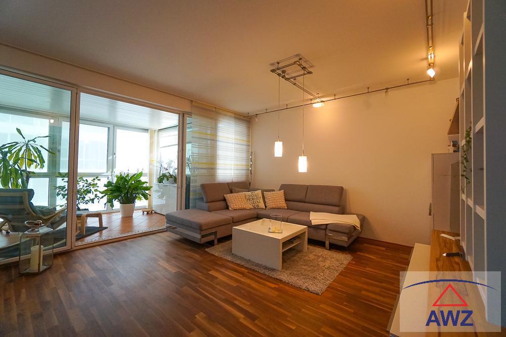 Wels-Zentrum: Traumhafte Wohnung mit Dachterrasse und Wintergarten!